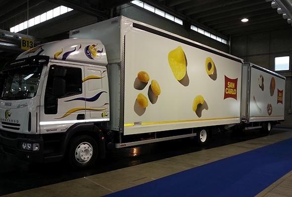 telone per camion a marchio SAN CARLO