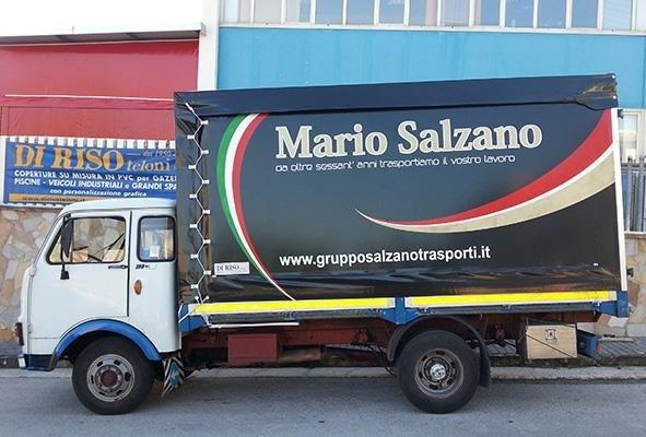 telone per camion a marchio MARIO SALZANO