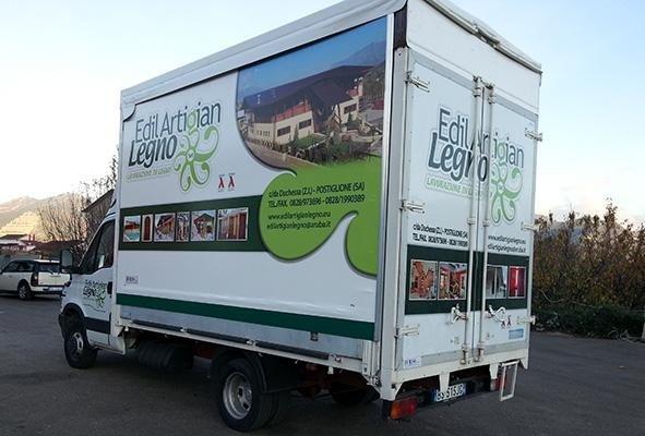 telone per camion a marchio Edil Artigian Legno