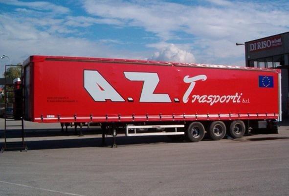 telone per camion a marchio A.Z TRASPORTI