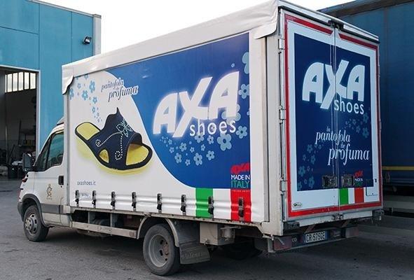 telone per camion a marchio AXA