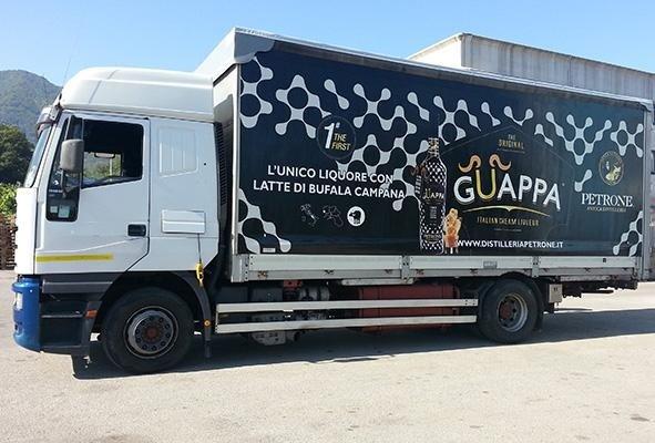 telone per camion a marchio  GUAPPA