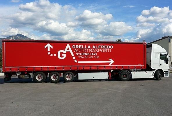 telone per camion a marchio GARELLA ALFREDO