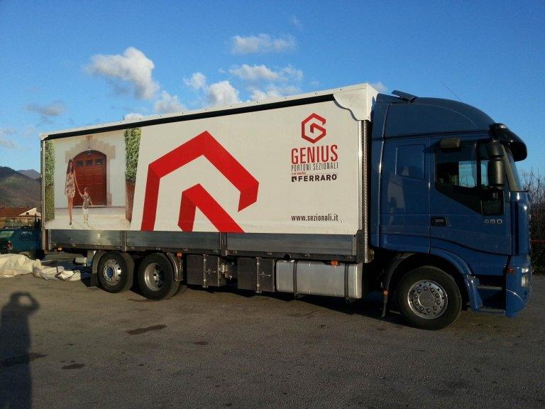 telone per camion a marchio GENIUS