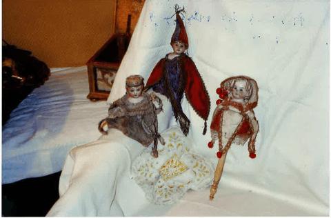 tre bamboline