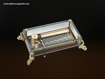 scatola musicale in cristallo