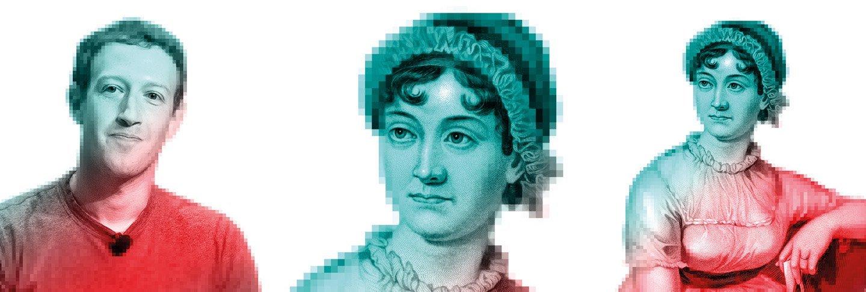 Pixel image effect