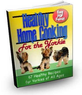 Yorkie home cooking book