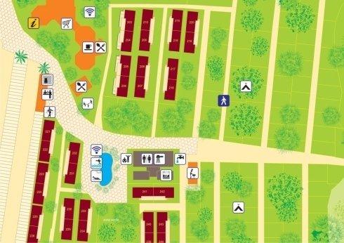 mappe per campeggi