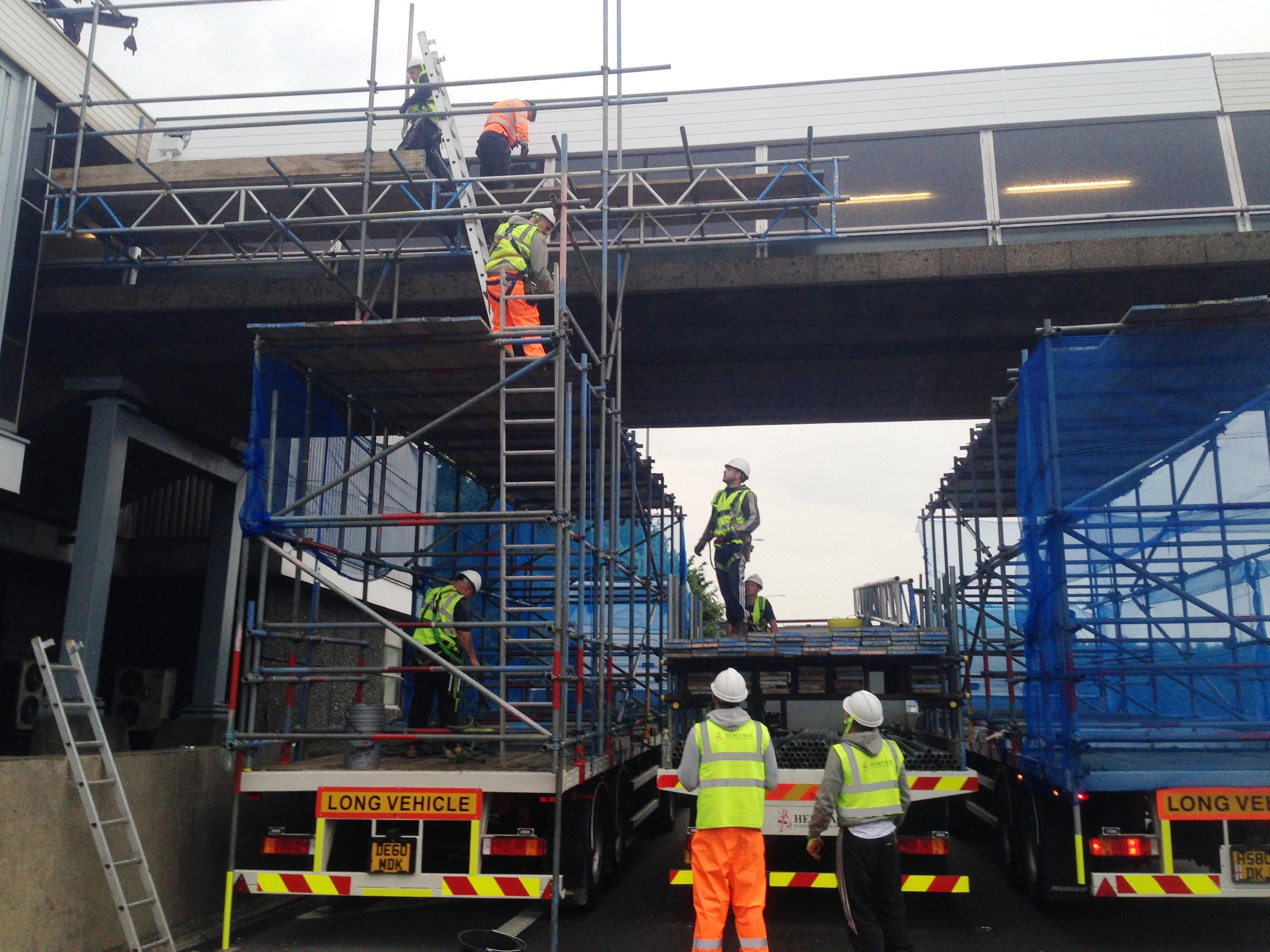 scaffolding preparations