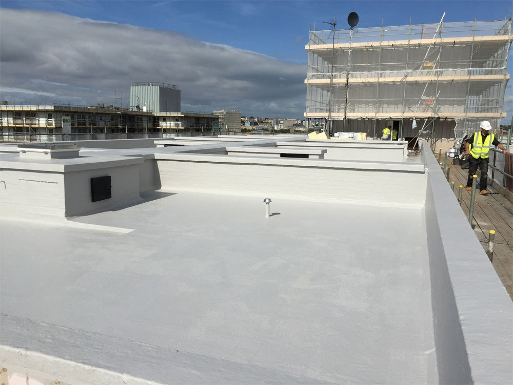 A flat roof project