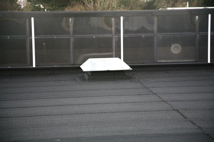 An example of our flat roofing