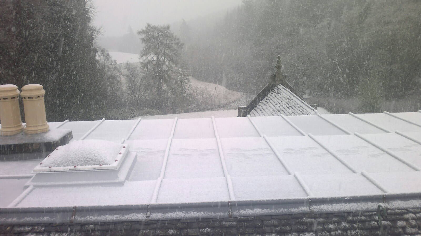 preparing a roof
