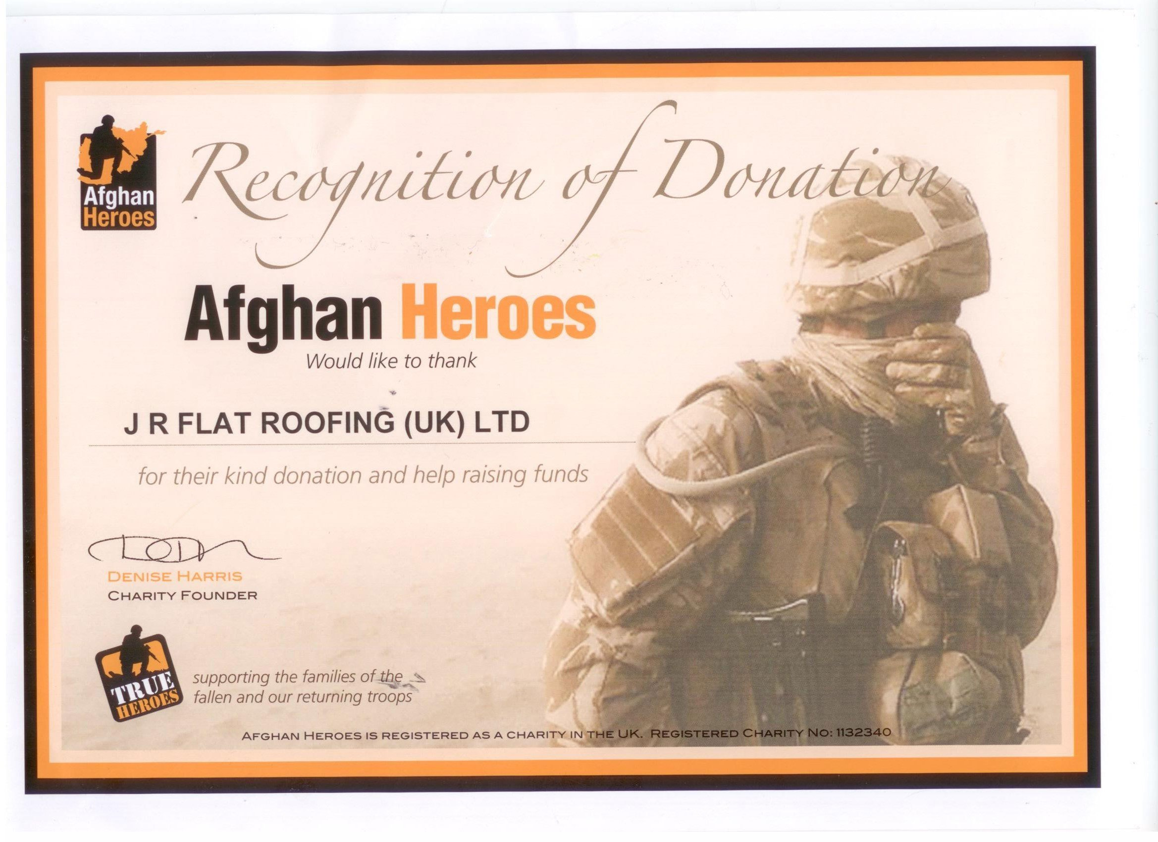 afghan heroes recognition