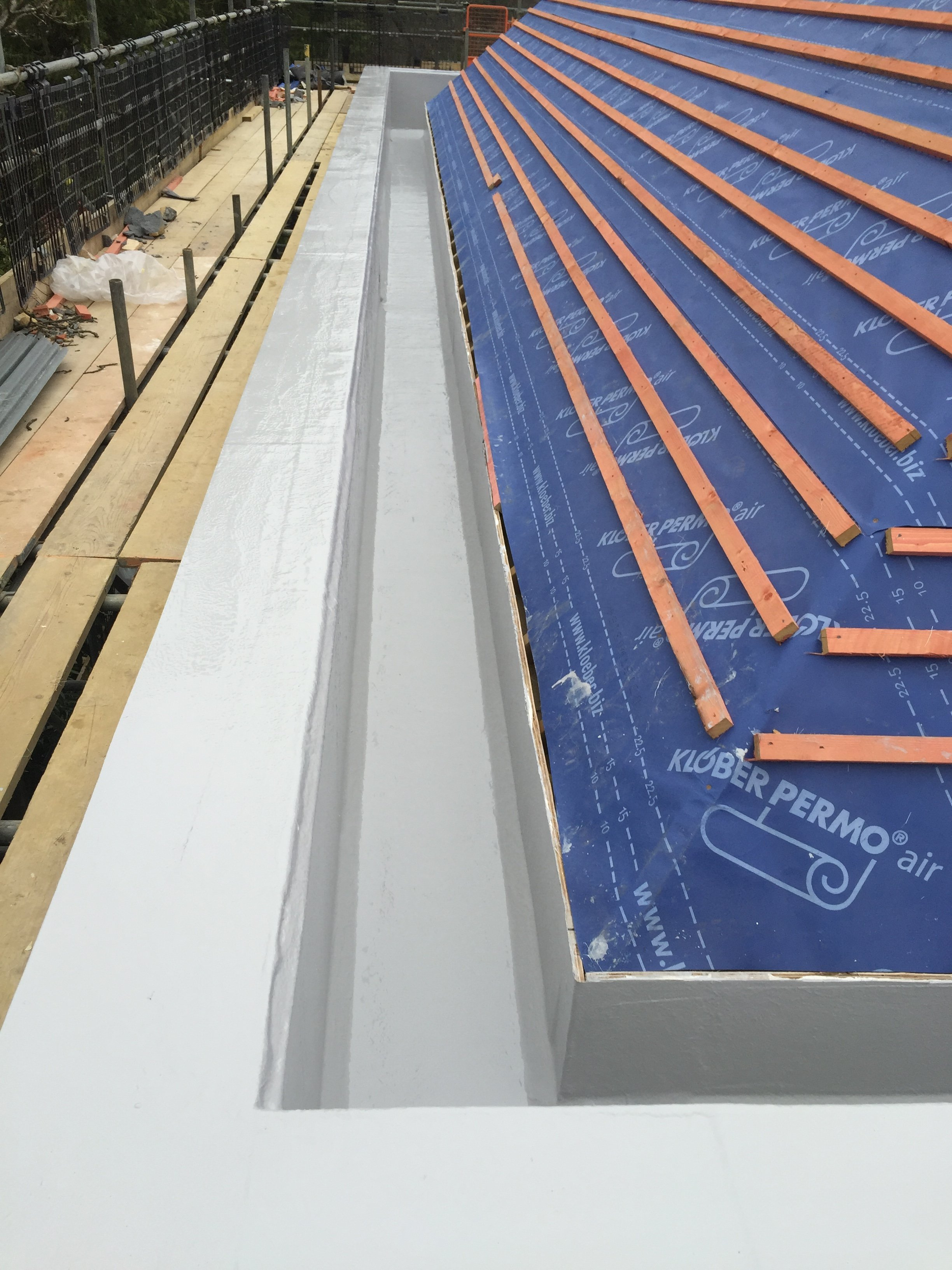 Large Box Gutter In Surrey
