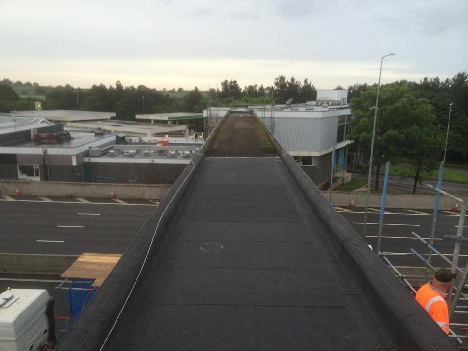 preparing bridge for surfacing