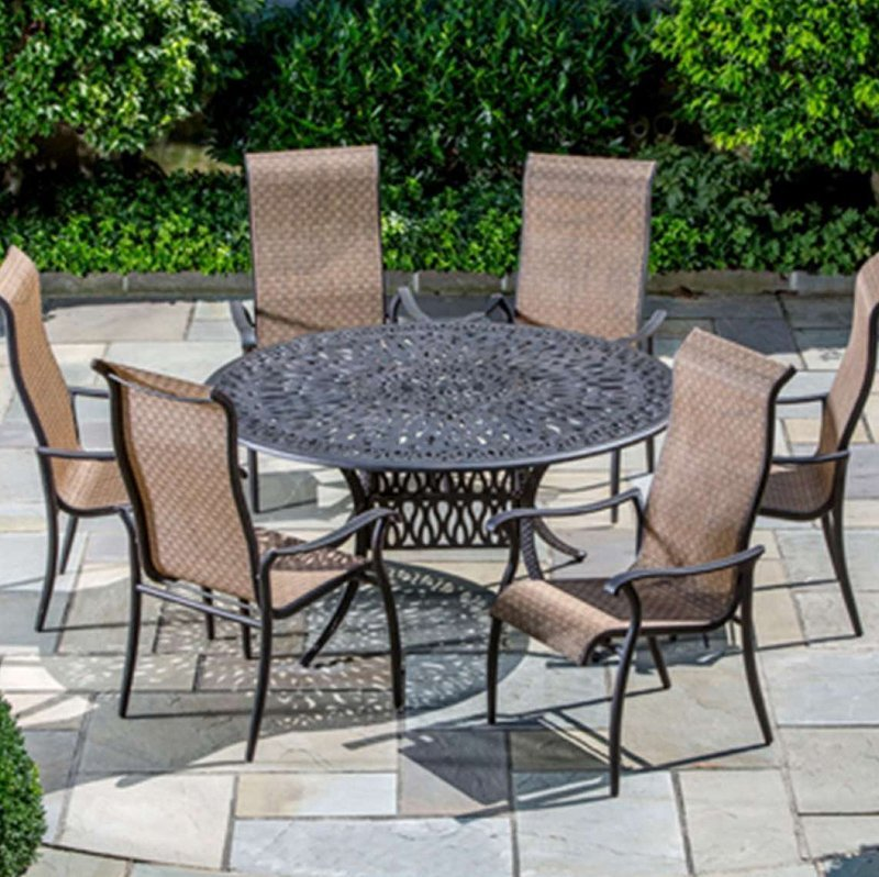 Cast Iron Patio Furniture Sets Harrow S Serving Long