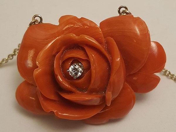 rosa di corallo siciliano