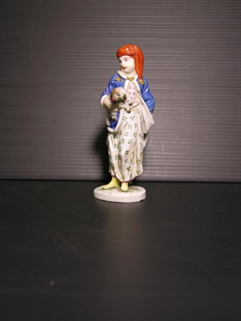 statuetta porcellana tedesca