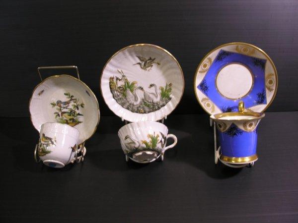 tazzine antiche porcellana