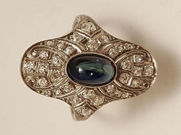 anello di platino