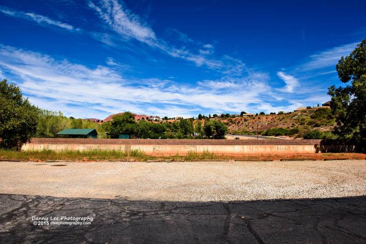 Photo of the former Gates Motel site,  © Danny Lee Photography