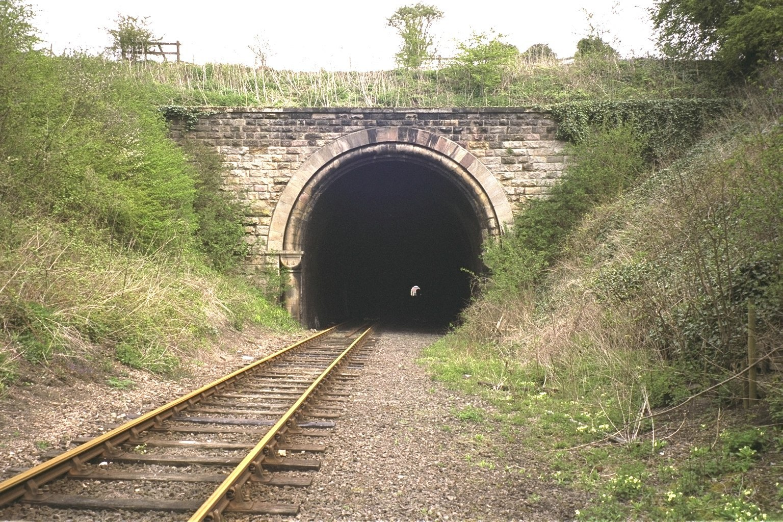 Nene Valley train tunnel (Octopussy - 1983)