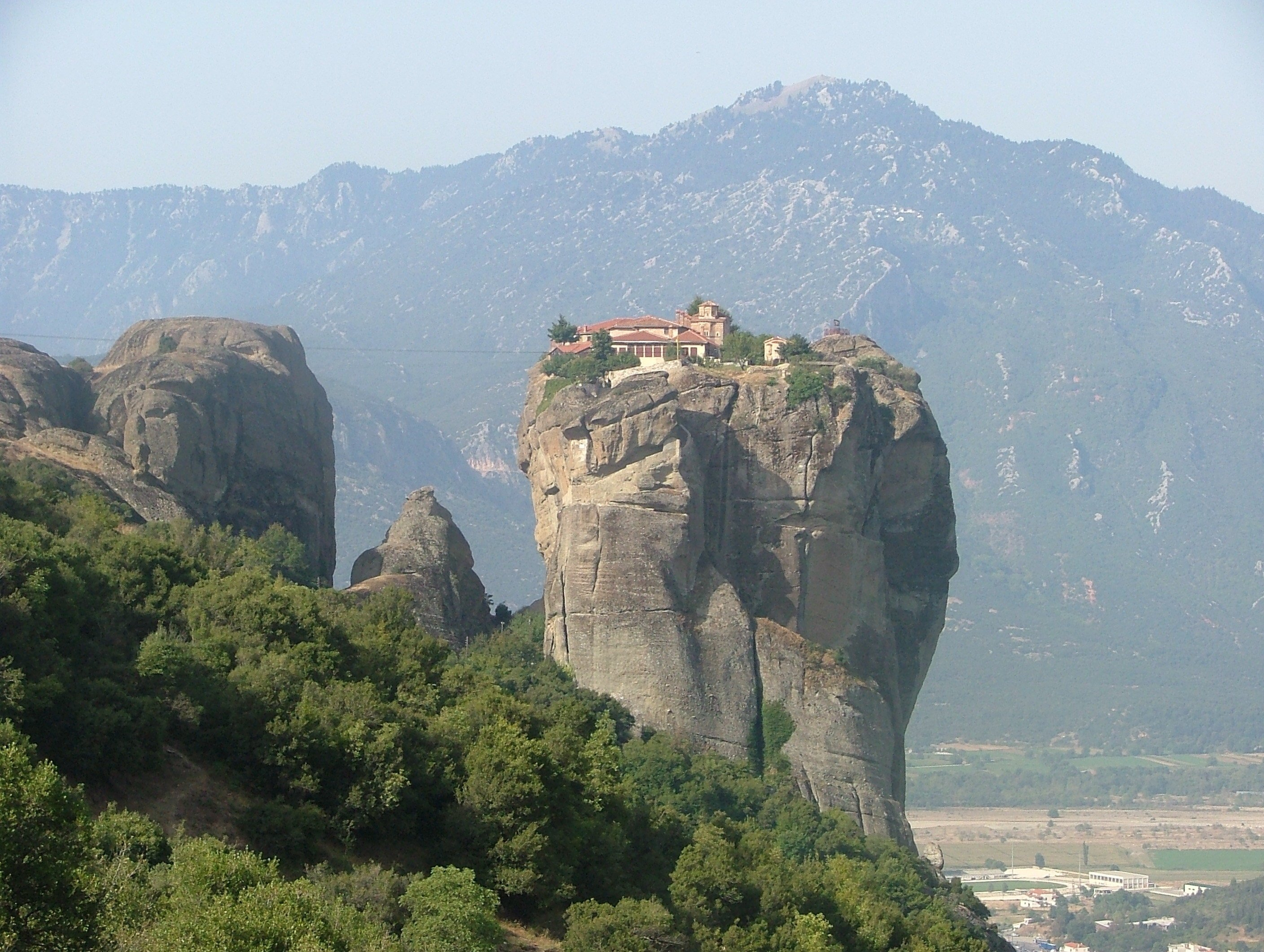 The Meteora region in Greece (For Your Eyes Only - 1981)
