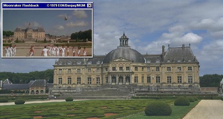 Around Paris, several chateaus were used for different Bond films