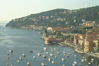 The Cote d'Azur, the French Soutch coast