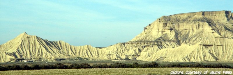 Bardenas Reales in Northern Spain is where Bond met Dr. Christmas Jones in The World Is Not Enough (1999)
