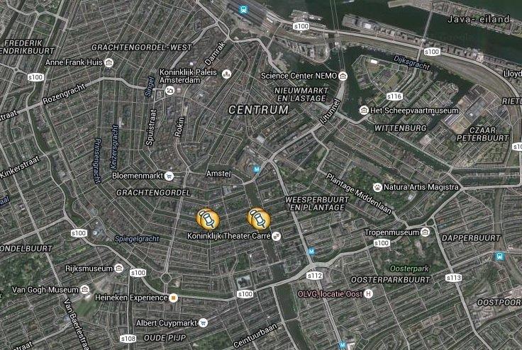 Amsterdam location map