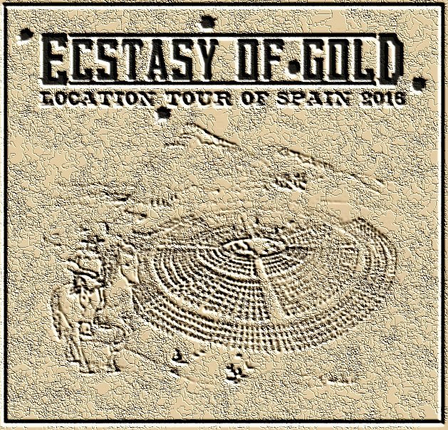 Ecstasy of Gold Tour of Spain 2016 leathered logo
