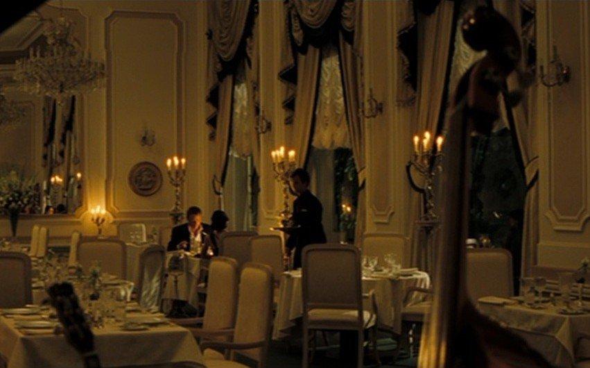 Even some interior scenes were filmed at Grandhotel Pupp
