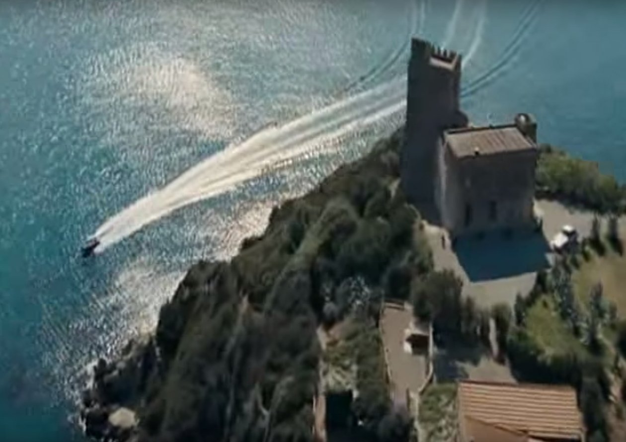 Torre de Talamonaccio as seen in Quantum Of Solace