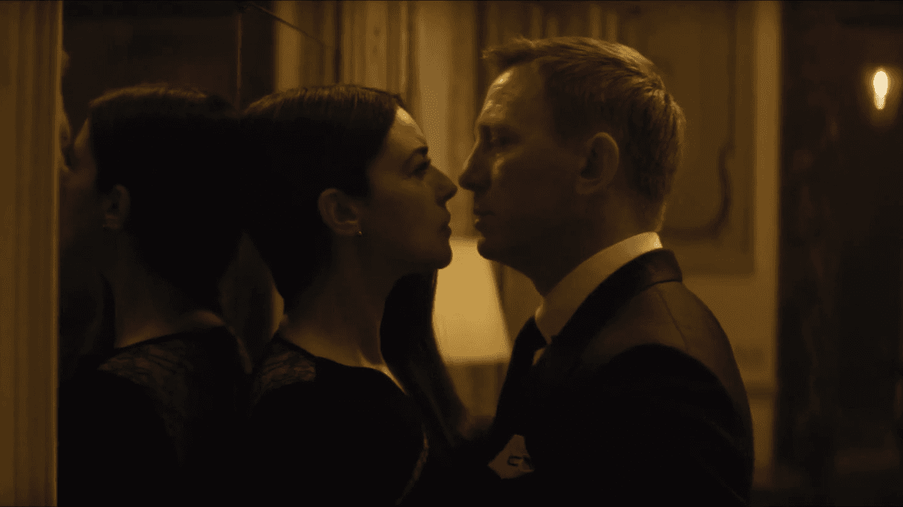 Daniel Craig and Monica Bellucci is one of the best scenes from SPECTRE