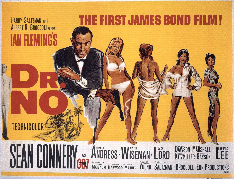 Dr. No (1962) - poster