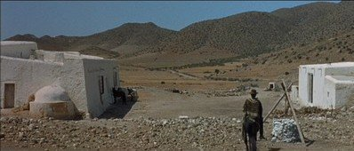 Marissol's house in Fistful of Dollars