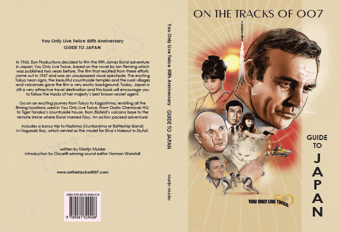 Full cover of the book On the tracks of 007's Guide to Japan