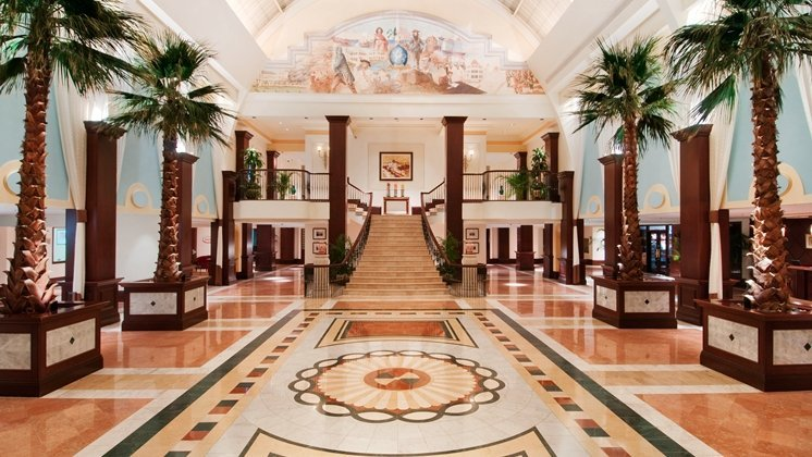 The Buitish Colonial Hilton lobby, as seen in Never Say Never Again (1983)