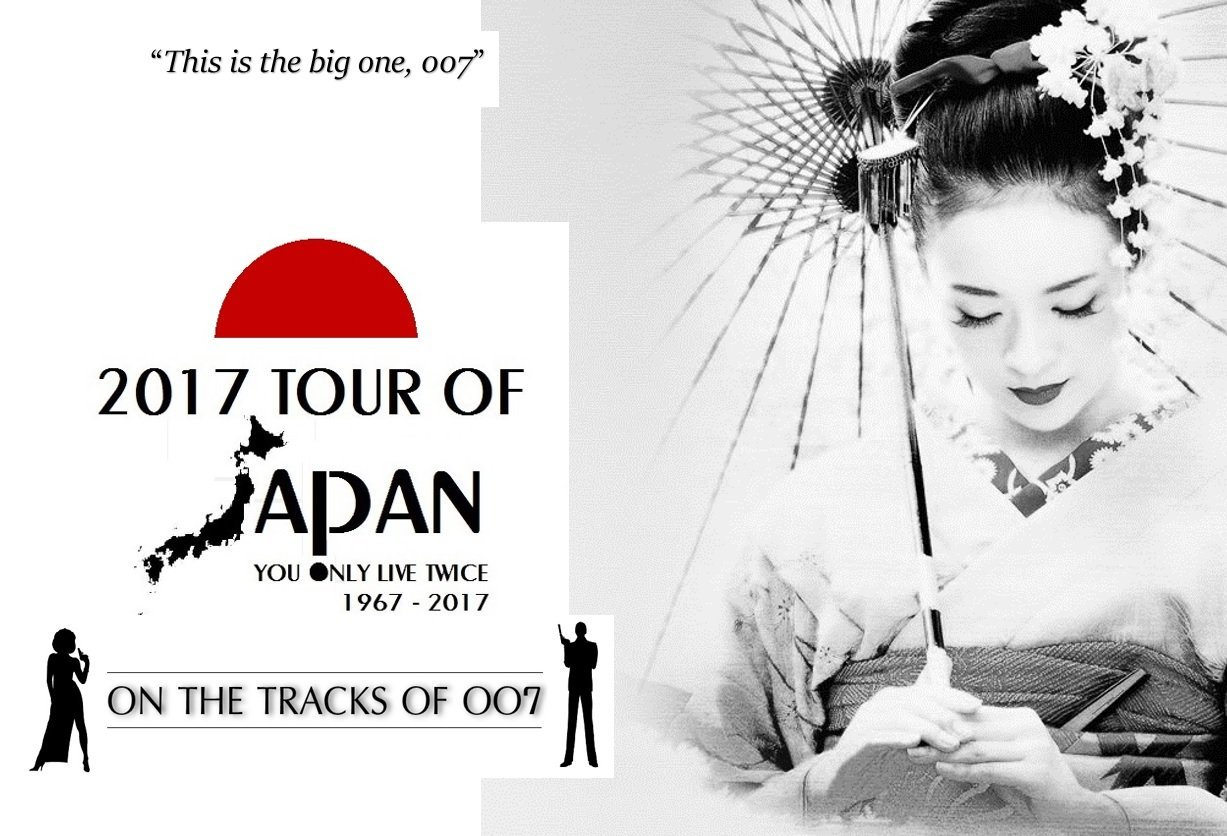 2017 You Only Live Twice 50th anniversary Tour of Japan