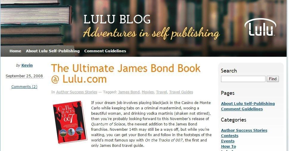 Lulu Blog