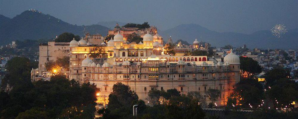 The Shiv Niwas Palace in Udaipur