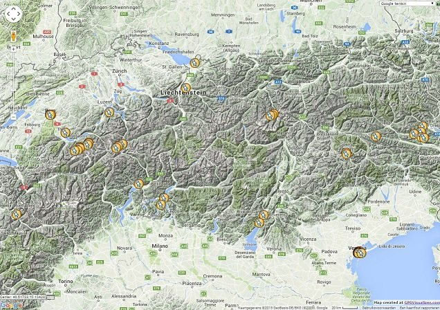 Switzerland location map