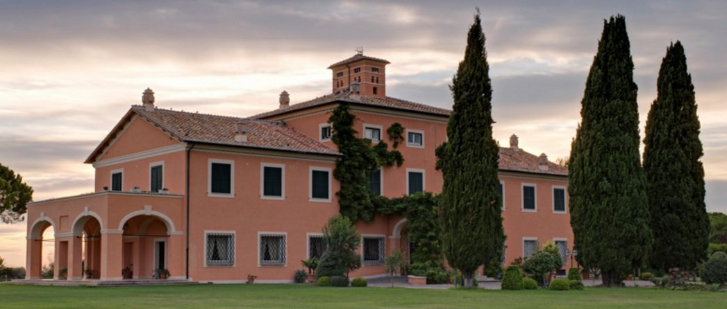 Villa di Fiorano, just outside Rome, served as the filming location for Lucia Sciarra's villa in SPECTRE