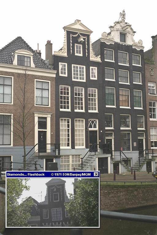 Reguliersgracht 36, the house used in Diamonds Are Forever (1971)