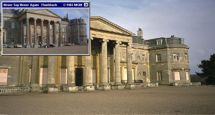 Luton Hoo as Shrublands, in Connery's final Bond film Never Say Never Again (1983)