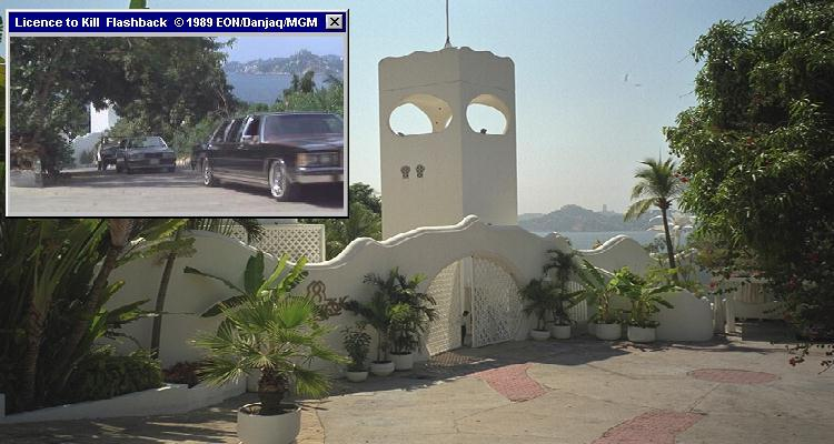 Villa Arabesque in Acapulco served as Sanchez' house in Licence To Kill (1989)