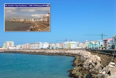 Cadiz in the South of Spain doubled for Havana, in Die Another Day (2002)