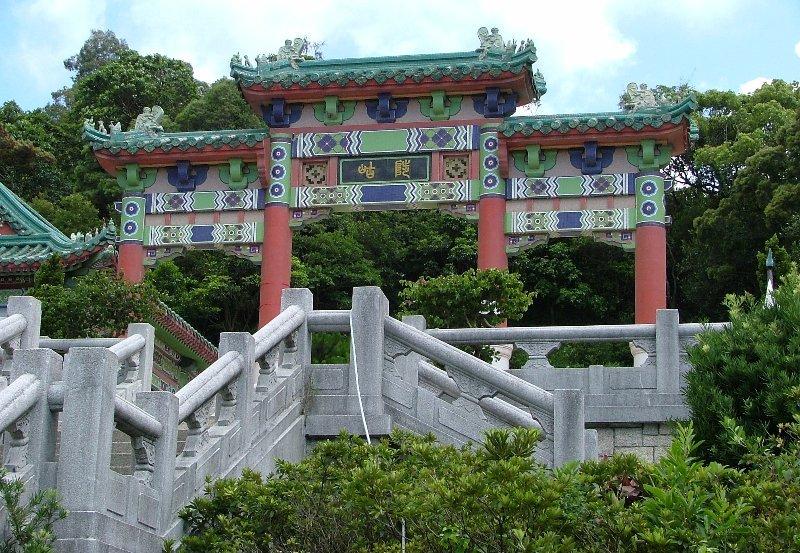 Hong Kong's Dragon Garden served as Hai Fat's estate in The Man With The Golden Gun (1974)